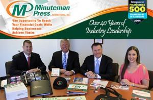 Own a Minuteman Press franchise