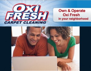 Own an Oxi Fresh Carpet Cleaning franchise