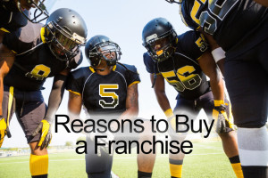 Franchise systems offer a team of support
