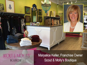 Scout & Molly's franchisee, Maryalice Keller