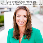 Lina Taylor supporting Tutor Doctor's Athlete2Entrepreneur program