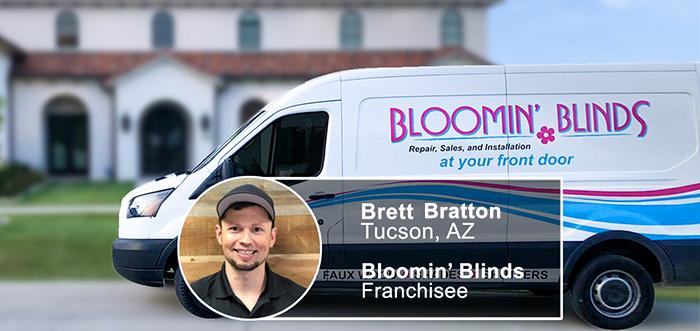 Bloomin' Blinds Franchisee Brett Bratton